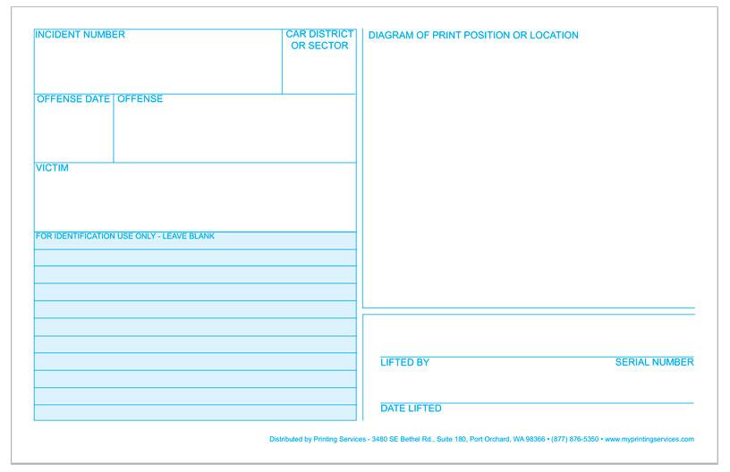 graphic relating to Miranda Warning Card Printable titled Legislation Enforcement Items